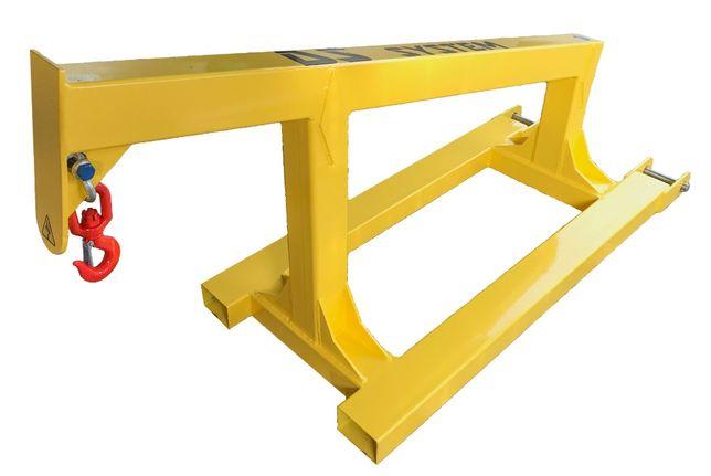 Żuraw do wózka, widłowego przedłużka wideł dźwig - 2,5t - DS System