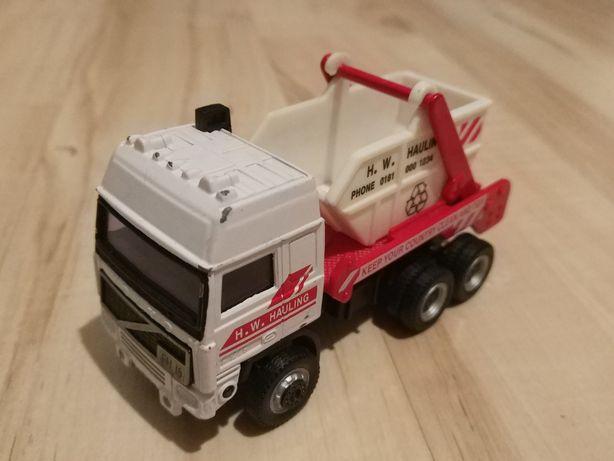 Śmieciarka Samochodzik H. W. Hauling *podnoszona klapa*