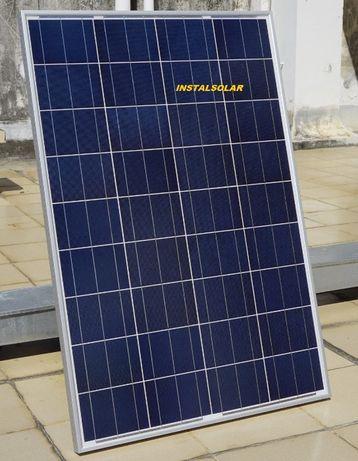 Paineis solares 100W e 160W