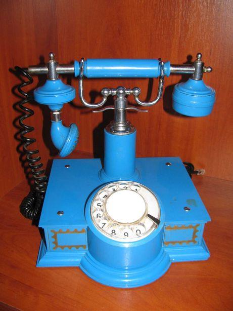 Телефон ретро домашний стационарный исправный СССР, не мобильный