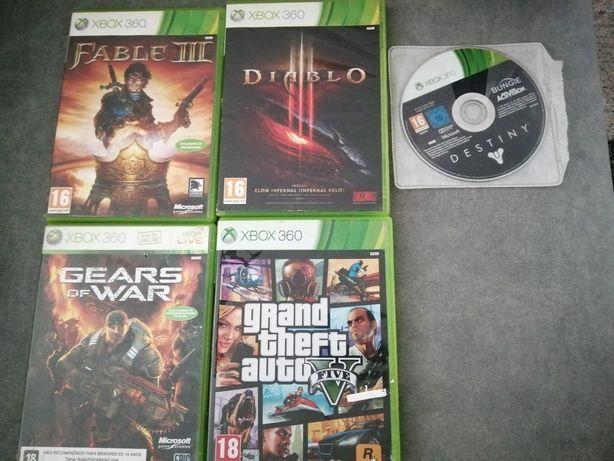 Jogos Xbox 360 diversos