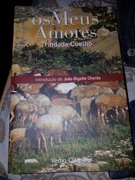 Livro Os Meus Amores de Trindade Coelho