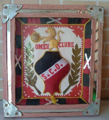 Quadro emblema do S.C. Olhanense dos anos 60