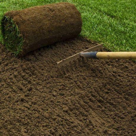 K0 ZIEMIA pod trawniki PRZESIEWANA 5 TON Kupuj ziemię u Kazika!