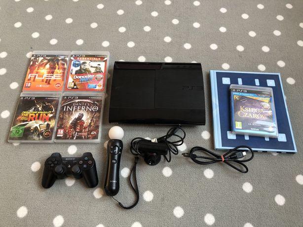 Konsola Playstation 3 PS3 +kontroler Move