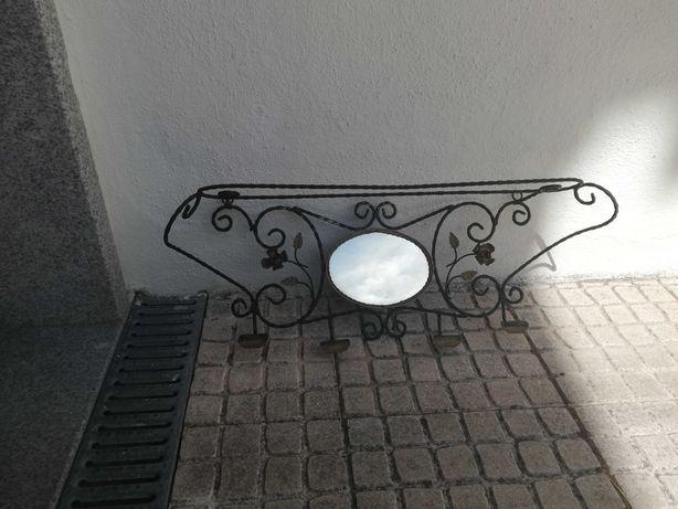 Espelho/Bengaleiro Vintage