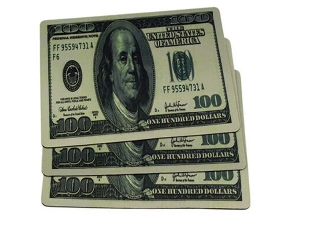 Коврик для компьютерной мышки Доллар USD USA (20*28*0.2мм) Mouse мыши