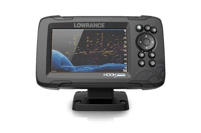 Sonda Lowrance Hook Reveal 5″ com Transdutor 50/200 HDI ROW