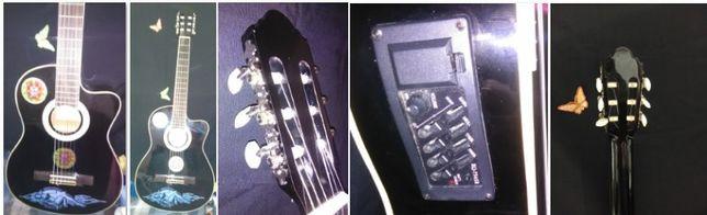Guitarra semi-acústica Almeria
