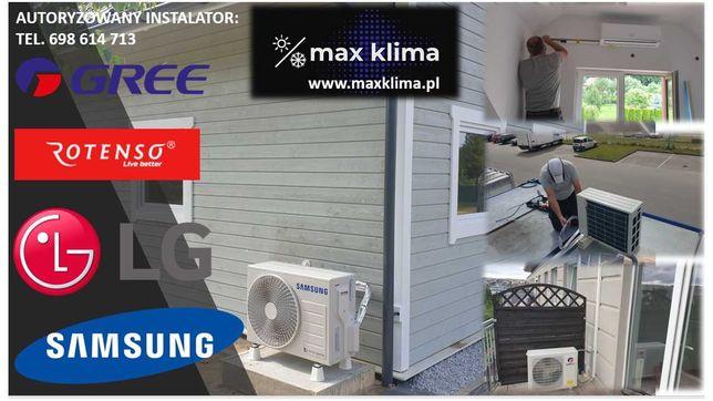 Klimatyzacja Rotenso Roni 3,5 kW z montażem 2 590 zł Promocja