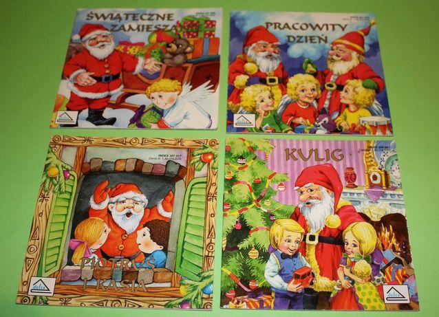 książeczki z Mikołajem Boże Narodzenie Delta 1996