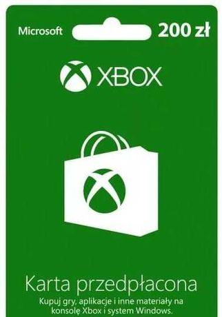 Kod na Xbox o wartosci 200 PLN za 170 PLN