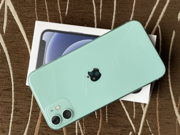 Iphone 11 64GB miętowy nowy/gwarancja