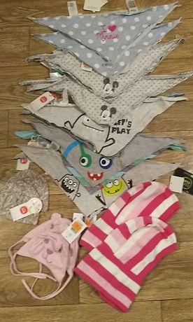 Шапочки чепчики для новорожденных девочек и мальчиков кул клаб