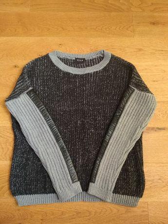 Sweter Vila czarny oversize S