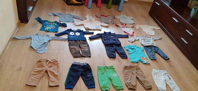 Paka ubrań dla chłopca  74