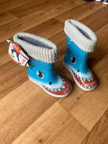 Buty dziecięce (Gumiaki z ocieplaczem) rozmiar 23