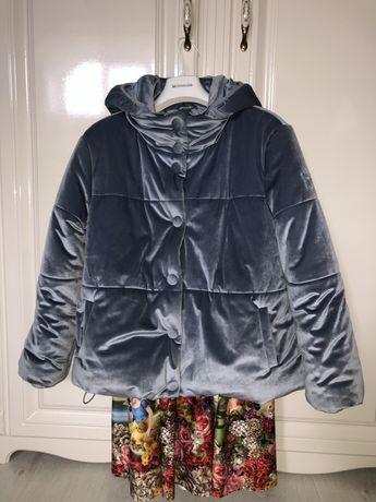 Monnalisa шикарная  куртка