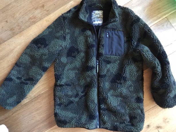 Кофта куртка флис шерпа на мальчика подростка 13-14 лет теплая