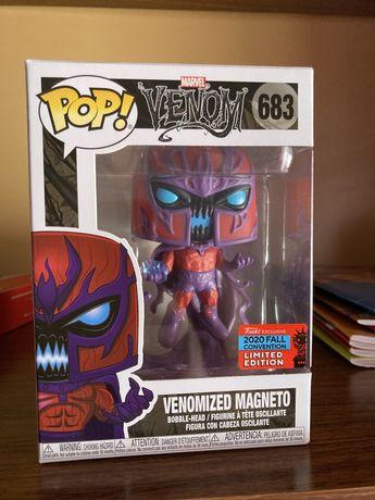 Funko pop Venomized Magneto marvel  (2020 fall convention )
