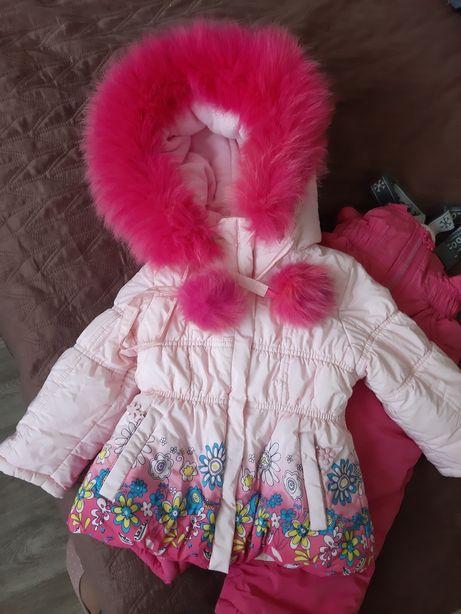 Зимний комбенизон костюм для девочки donilo