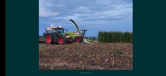 Koszenie kukurydzy z odwozem lub bez