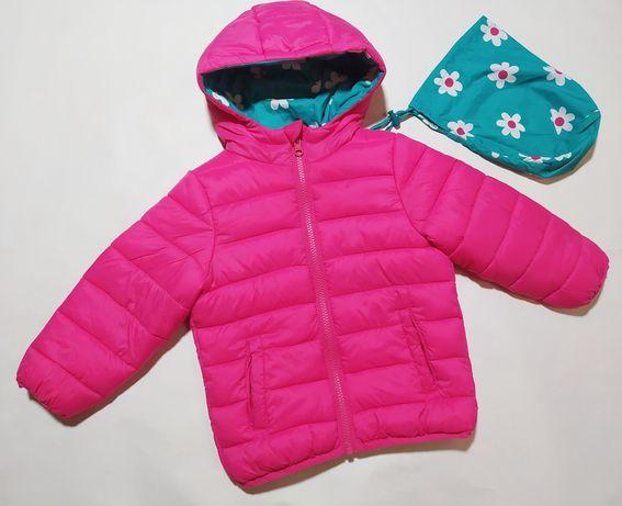 Куртка двухсторонняя george на 2-3 года рост 92-98 см