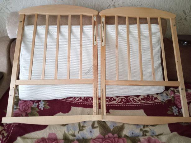 Детская кроватка-люлька+ матрас