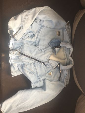 Katana-ramoneska jeansowa