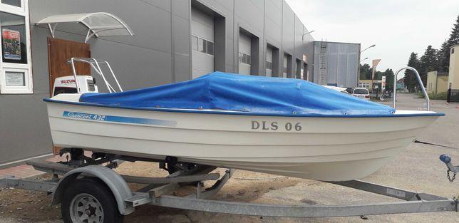 Łódz wędkarska 430x180 silnik 40