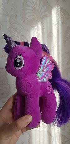 Плюшевая пони Twilight Sparkle Сумеречная Искорка My Little Pony