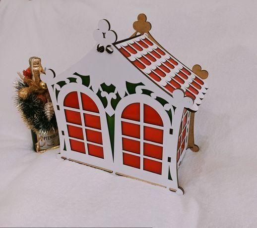 """Подарочная коробка """"Чайный домик"""""""