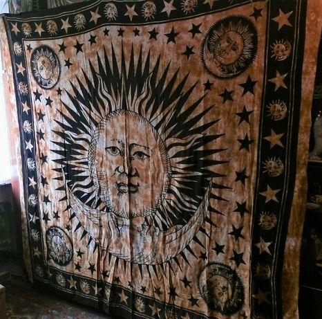 БАТИК Африка -панно,покрывало,штора,простынь - 200 х 215 см.