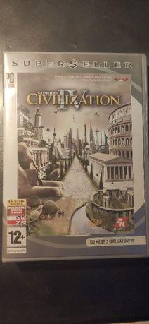 Gra Pudełko CD Sid Meier's Civilization IV