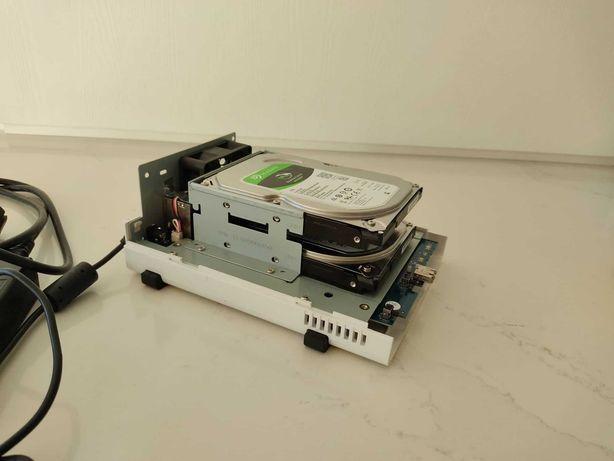 2 Discos externos 1 TB cada NAS Synology DiskStation DS210J