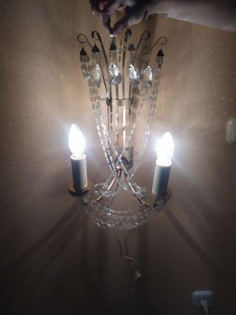 Настенный светильник бра СССР