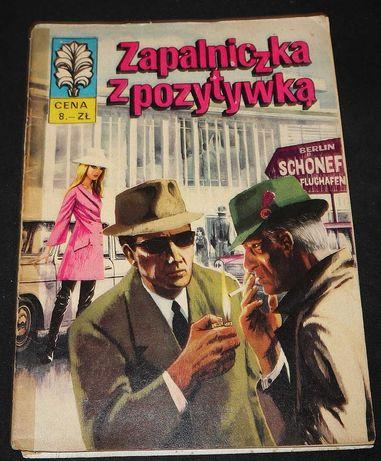 Komiks : Kapitan Żbik Zapalniczka z pozytywką 1970