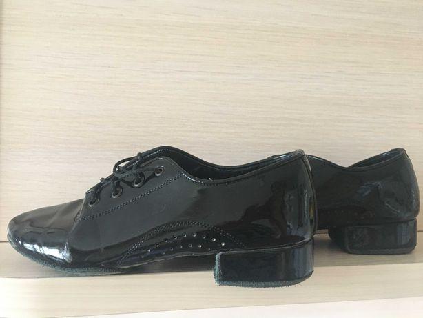"""Туфли """"Талисман"""" для бальных танцев мальчик лаковые по стельке 18,5 см"""
