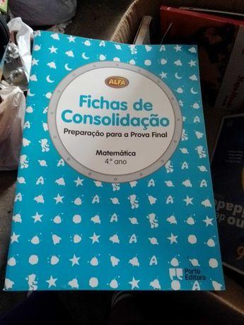 Manual/Livro de Fichas /atividades- Vários 4º ano