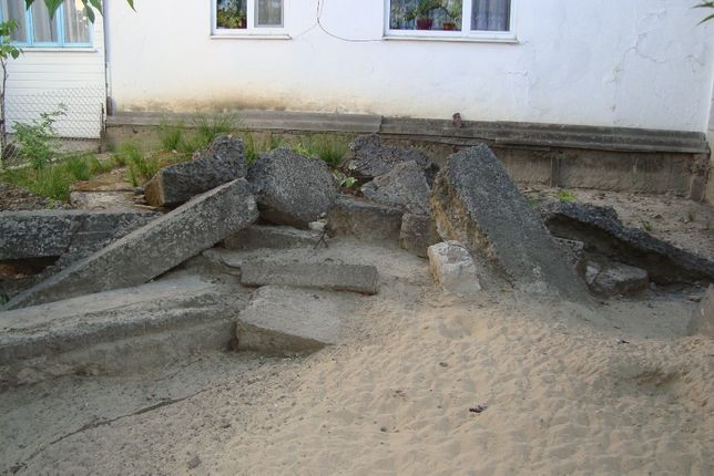 Блоки бетонні (безкоштовно)