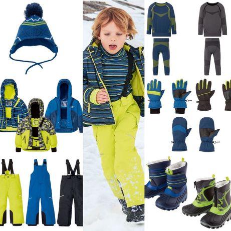 Зимние Термо костюмы, лыжные, для мальчиков Crivit, Lupilu