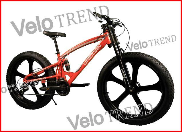 Горный велосипед Unicorn фэтбайк Fet-Bike 26″ Рама 17 На литых дисках