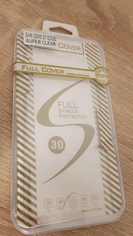 Hartowane szkło 3D - Samsung G935 GALAXY S7 EDGE SUPER CLEAR, ZAGIĘT