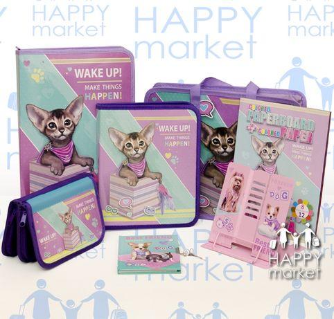 Набор школьный подарок первокласснику Kidis 7 предмета для девочки
