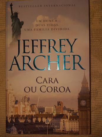 """Vendo """"Cara ou coroa"""" de Jeffrey Archer"""