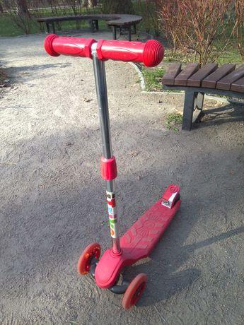 Самокат детский iTrike трёхколёсный