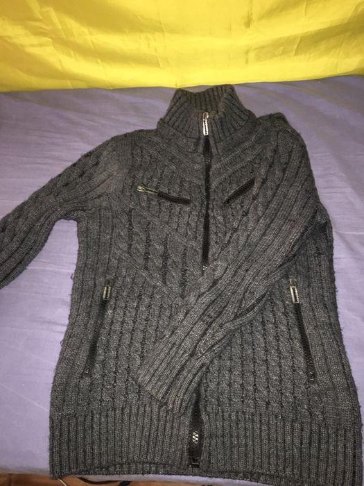 Теплый свитер, джемпер зип Харьков - изображение 1