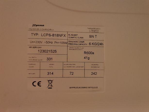 Lodówka Mastercook LCPS-818NFX