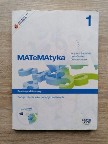 """Podręcznik """"MATeMAtyka 1"""" dla szkół ponadgimanzjalnych - podstawa"""