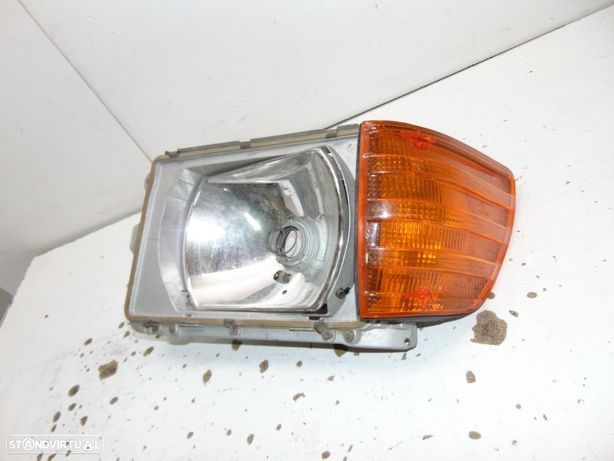 Mercedes w107 r107 c107 coupê ou cabrio farol esquerdo original